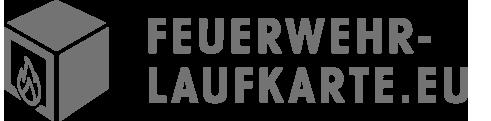 Das Logo der Feuerwehrlaufkarten-App.